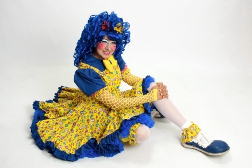 Picture of BLUEtiful the Clown.