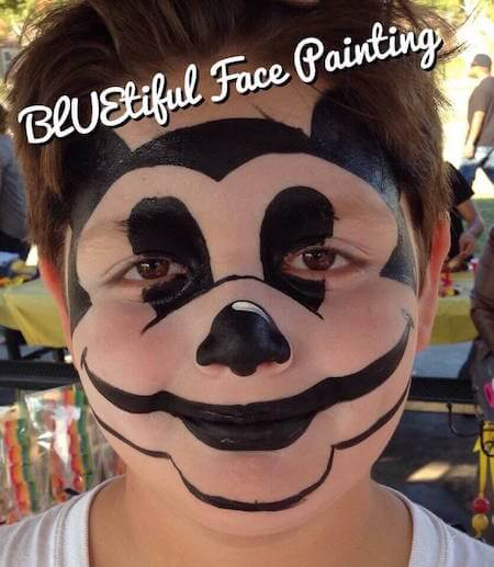 The Mouse Face Painting
